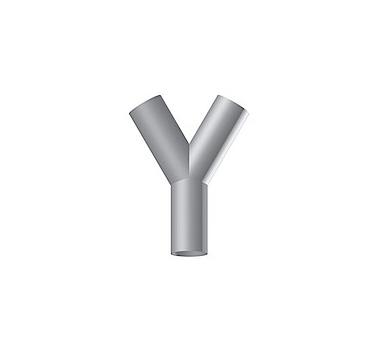 Symmetriska Y-förgreningar